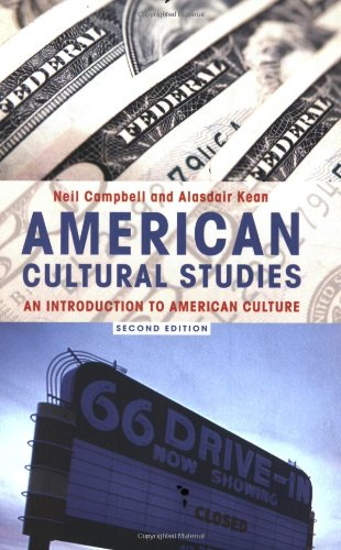9780415346665: American Cultural Studies: An Introduction to American Culture