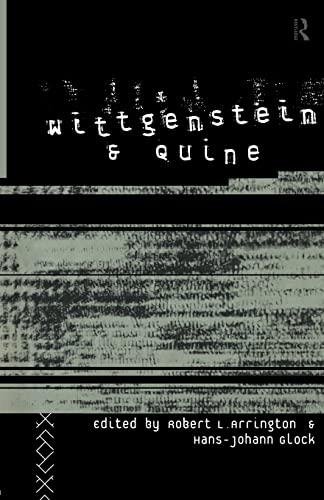 9780415349048: Wittgenstein and Quine
