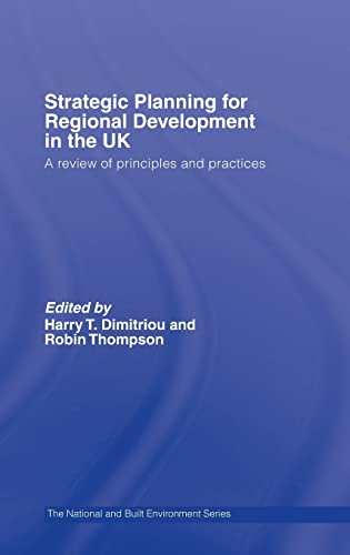 9780415349376: Strategic Planning for Regional Development in the UK (Natural and Built Environment Series)