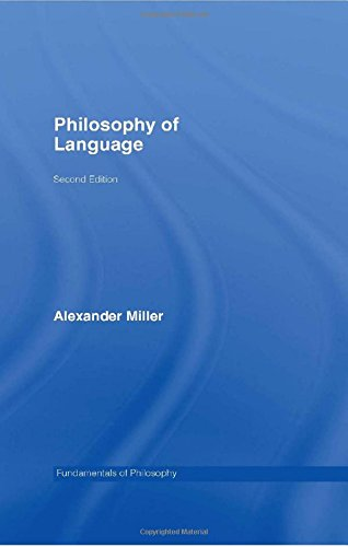 9780415349802: Philosophy of Language (Fundamentals of Philosophy)