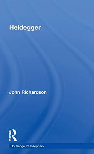 9780415350709: Heidegger (The Routledge Philosophers)