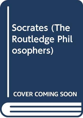 9780415350730: Socrates (Rp) (The Routledge Philosophers)