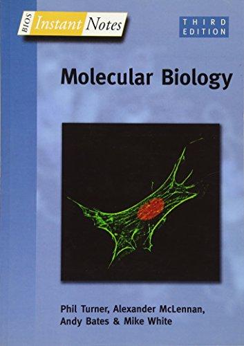 BIOS Instant Notes in Molecular Biology: Turner, Phil, McLennan,