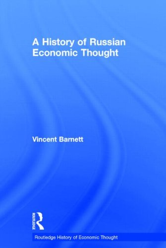 9780415352642: A History of Russian Economic Thought (The Routledge History of Economic Thought)