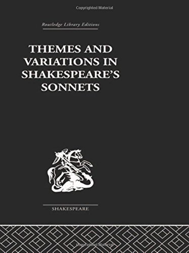 9780415352956: Themes and Variations in Shakespeare's Sonnets