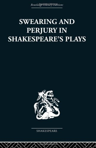 9780415353069: Swearing and Perjury in Shakespeare's Plays