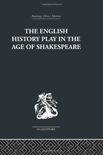 9780415353144: The English History Play in the age of Shakespeare
