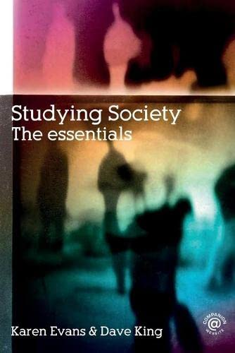 9780415355209: Studying Society: The Essentials