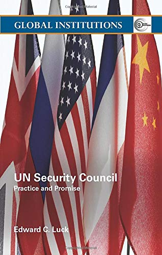 9780415355315: UN Security Council: Practice and Promise (Global Institutions)