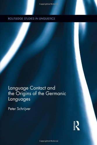9780415355483: Language Contact and the Origins of the Germanic Languages (Routledge Studies in Linguistics)