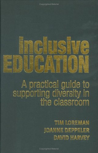 9780415356688: Inclusive Education: A Practical Guide to Supporting Diversity in the Classroom