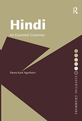 9780415356718: Hindi: An Essential Grammar (Routledge Essential Grammars)