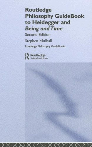 9780415357197: Routledge Philosophy Guidebook to Heidegger and Being and Time (Routledge Philosophy GuideBooks)