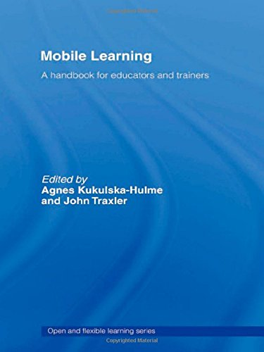 9780415357395: Mobile Learning: A Handbook for Educators and Trainers (The Open And Flexible Learning Series)