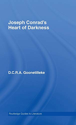 9780415357753: Joseph Conrad's Heart of Darkness: A Routledge Study Guide (Routledge Guides to Literature)