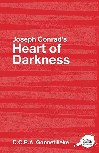 9780415357760: Joseph Conrad's Heart of Darkness: A Routledge Study Guide (Routledge Guides to Literature)