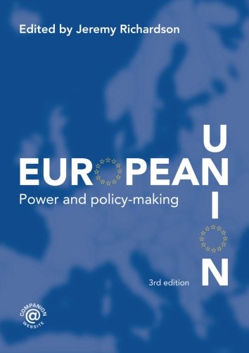 9780415358149: European Union: Power and Policy-Making (Routledge Research in European Public Policy)
