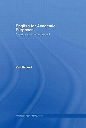 9780415358699: English for Academic Purposes: An Advanced Resource Book