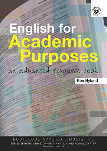 9780415358705: English for Academic Purposes: An Advanced Resource Book (Routledge Applied Linguistics)