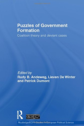 9780415359825: Puzzles of Government Formation: Coalition Theory and Deviant Cases (Routledge/ECPR Studies in European Political Science)