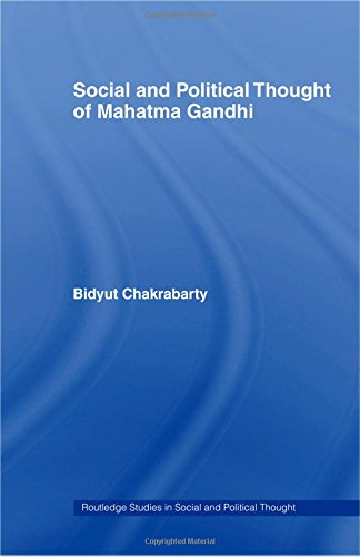 9780415360968: Social and Political Thought of Mahatma Gandhi (Routledge Studies in Social and Political Thought)