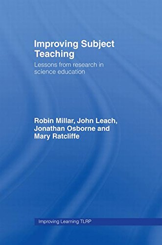 9780415362092: Improving Subject Teaching: Lessons from Research in Science Education (Improving Learning)