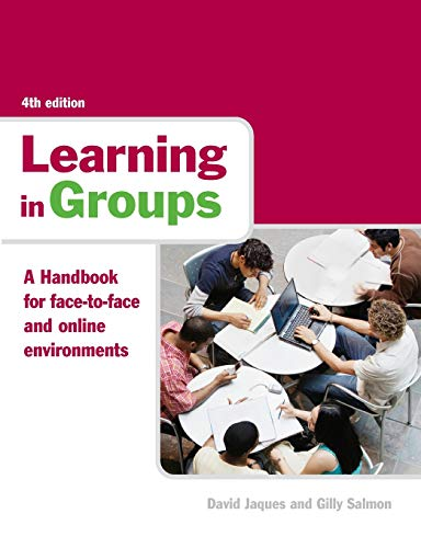 9780415365260: Learning in Groups: A Handbook for Face-to-face and Online Environments