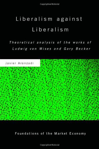 9780415365437: Liberalism against Liberalism: Theoretical Analysis of the Works of Ludwig von Mises and Gary Becker (Routledge Foundations of the Market Economy)