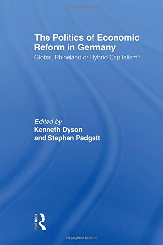 9780415366793: The Politics of Economic Reform in Germany: Global, Rhineland or Hybrid Capitalism