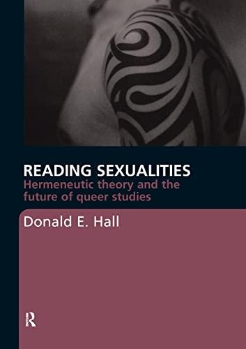 9780415367868: Reading Sexualities