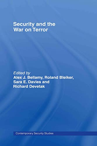 9780415368445: Security and the War on Terror (Contemporary Security Studies)