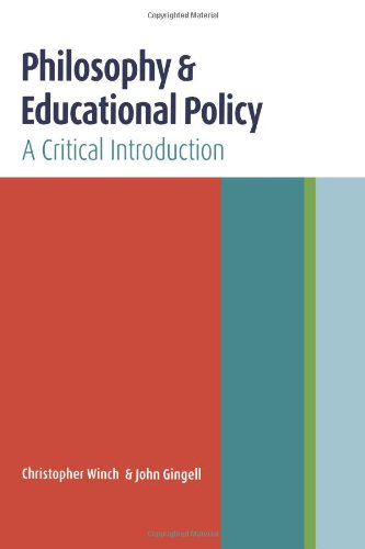 9780415369589: Philosophy and Educational Policy: A Critical Introduction