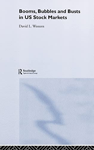 9780415369688: Booms, Bubbles and Busts in US Stock Markets