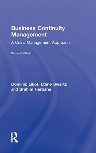 9780415371087: Business Continuity Management: A Critical Management Approach