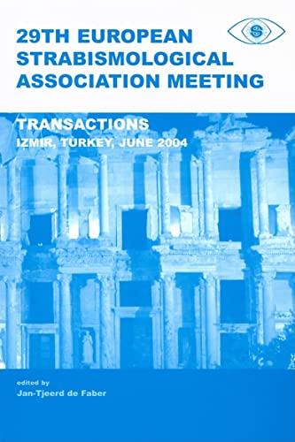 9780415372114: 29th European Strabismological Association Meeting: Transactions, Izmir, June 1-4, 2004