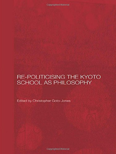9780415372374: Re-Politicising the Kyoto School as Philosophy (Routledge/Leiden Series in Modern East Asian Politics, History and Media)