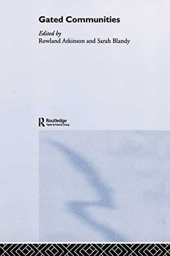 9780415373159: Gated Communities: International Perspectives