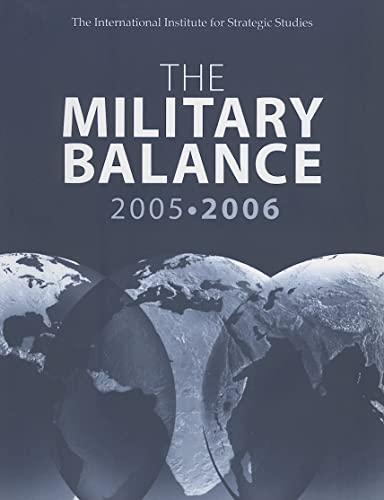 9780415373937: The Military Balance 2005-2006: October, Vol. 105