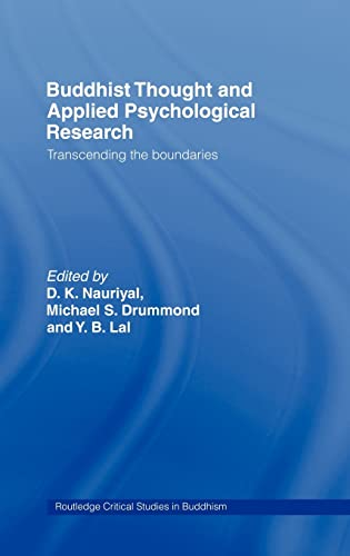 9780415374316: Buddhist Thought and Applied Psychological Research: Transcending the Boundaries (Routledge Critical Studies in Buddhism)