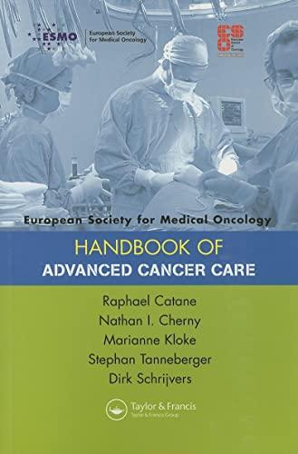 ESMO Handbooks: ESMO Handbook of Advanced Cancer: Catane, Raphael