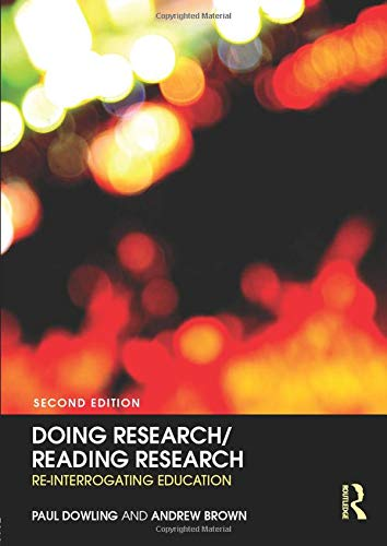 9780415376020: Doing Research/Reading Research: Re-Interrogating Education