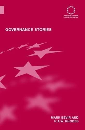 9780415376600: Governance Stories (Routledge Advances in European Politics)