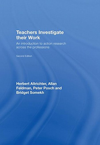 9780415377959: Teachers Investigate Their Work: An introduction to action research across the professions