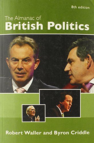 9780415378239: The Almanac of British Politics: 8th Edition