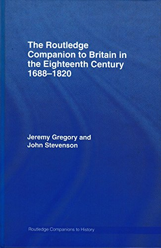 9780415378826: The Routledge Companion to Britain in the Eighteenth Century (Routledge Companions to History)
