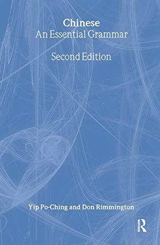 9780415380263: Chinese: An Essential Grammar (Routledge Essential Grammars)