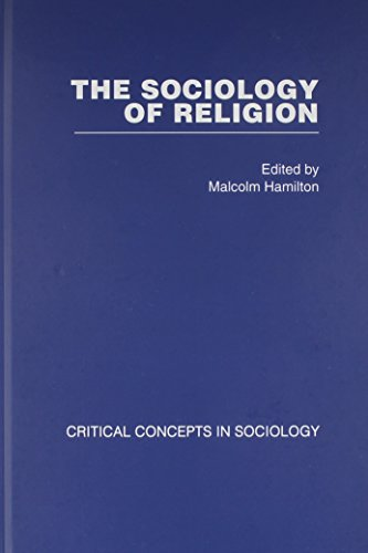 9780415381024: Sociology of Religion 5 vols: Critical Concepts in Sociology