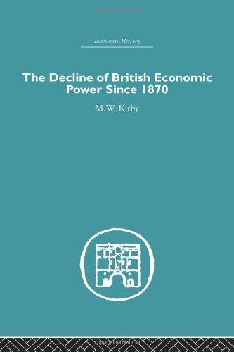 9780415382410: The Decline of British Economic Power Since 1870 (Economic History) (Volume 3)