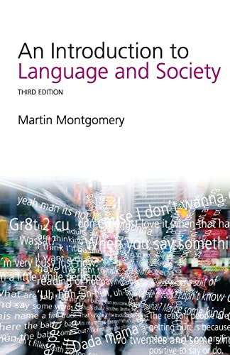 9780415382748: An Introduction to Language and Society (Studies in Culture and Communication)