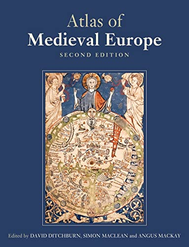 9780415383028: The Atlas of Medieval Europe